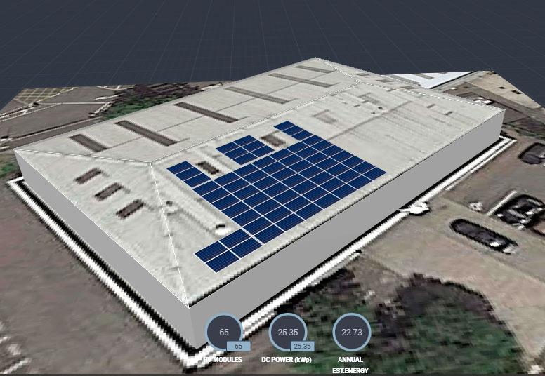 Oxford Solar PV SolarEdge Site Design Tool